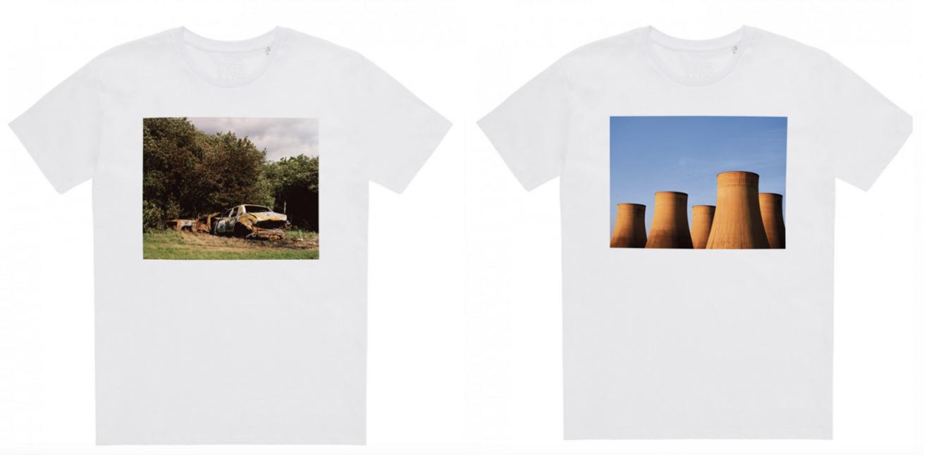 """写真家 アラスデア・マクレランによる""""イギリスの夏""""をテーマにしたTシャツが登場!"""