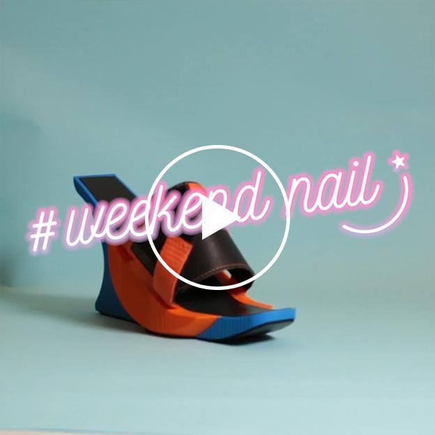 週末はエクスクルーシヴなデザインにチェンジ! 簡単キュートなWEEKENDネイル #103 crush on you