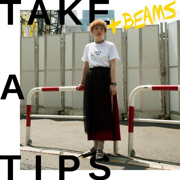 TAKE A TIPS +BEAMS FUJI ROCK T SHIRT