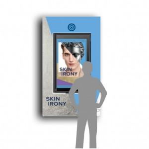 スウォッチが創るSKIN IRONYの世界を体感できるヴァーチャルスクリーンが銀座に登場
