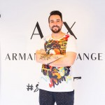 A|Xアルマーニ エクスチェンジと若手アーティストとのコラボアイテム発売記念イベントの様子をレポート!