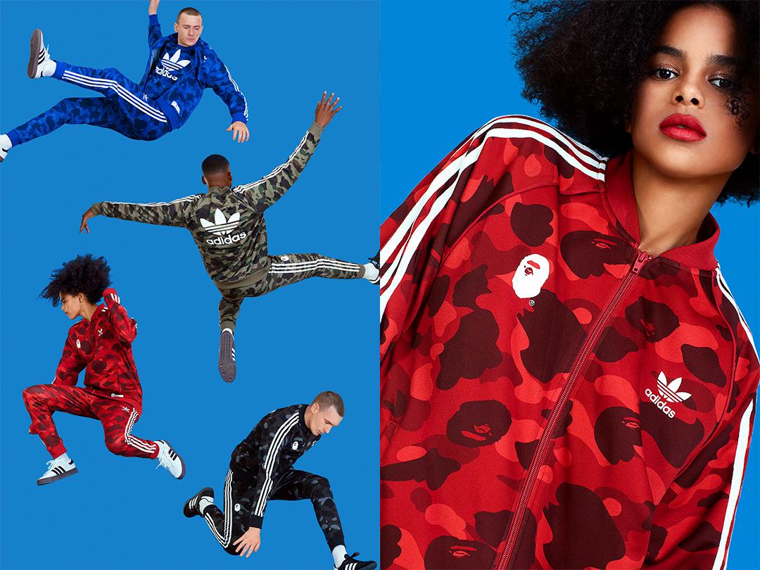 adidas x A BATHING APE®によるエクスクルーシヴな限定コラボが登場!