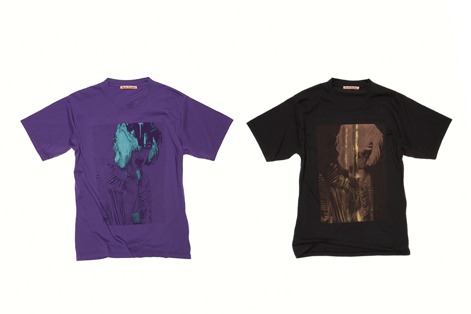 Acne Studiosより限定版スクリーンプリント Tシャツの第二弾が発表