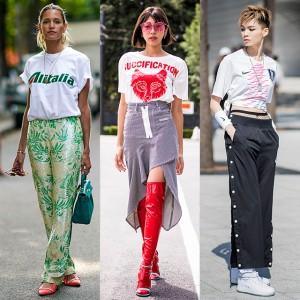 コーディネイト次第で印象が変わる! Tシャツスタイル特集