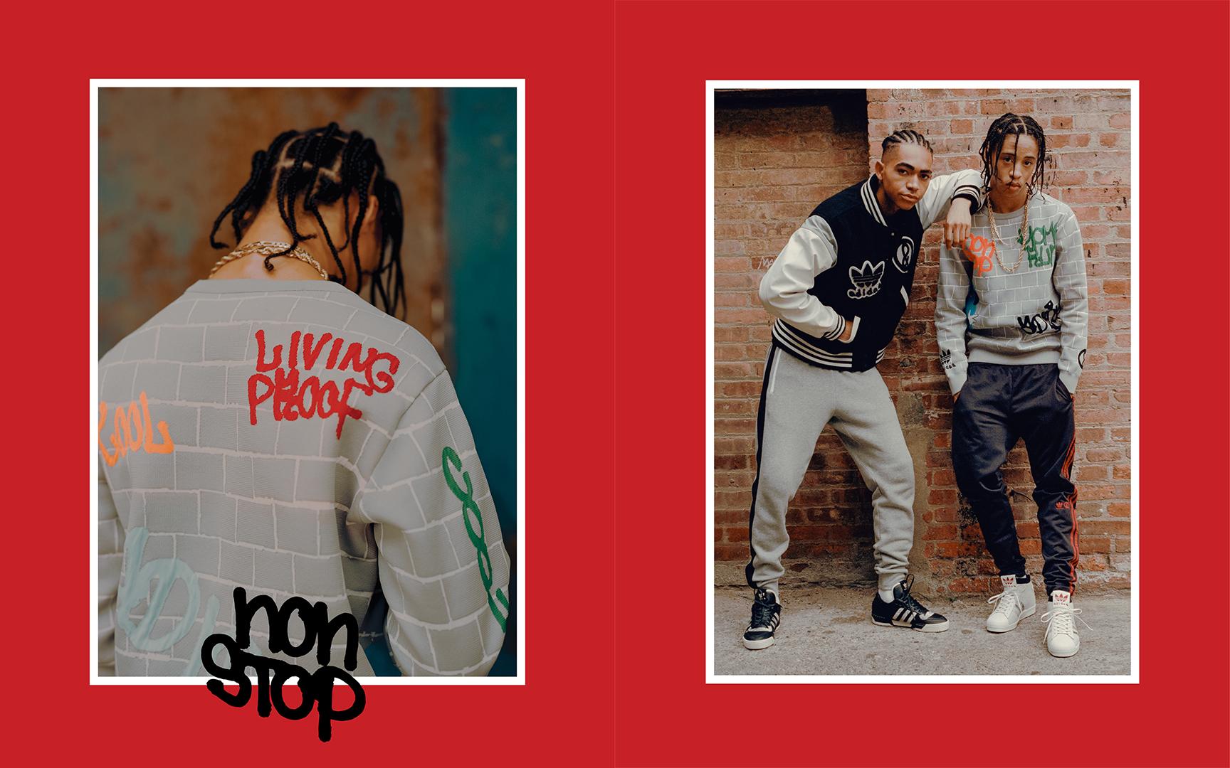 adidas Originals x UNITED ARROWS & SONSから80年代風コラボコレクションが登場