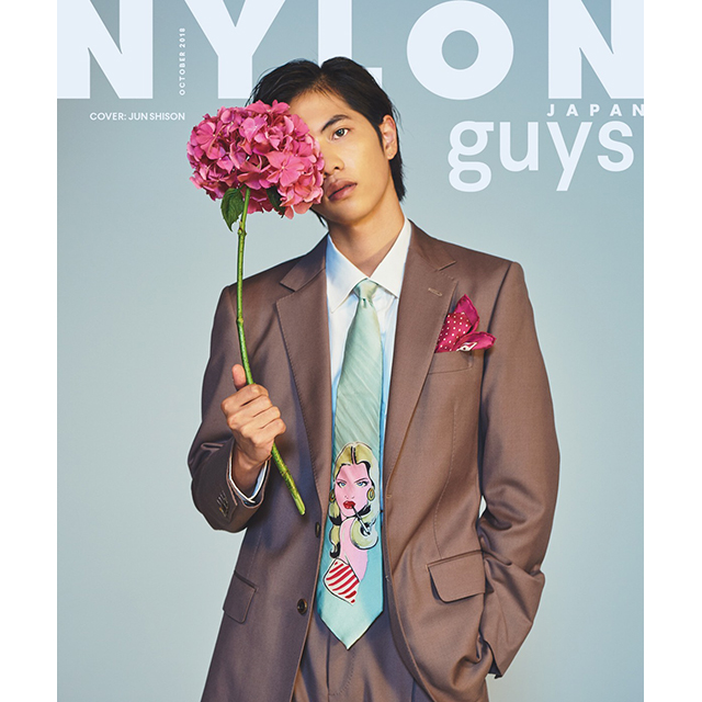 NYLON JAPAN 7月27日発売号《超特急》メンバー全員が遂にNYLON guys JAPANのカバーに!