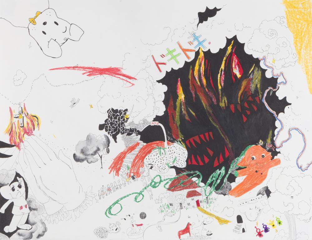 NYLON JAPANのイラストレーターとしても活躍していた気鋭アーティストのソロエキシビションが期間限定で開催!