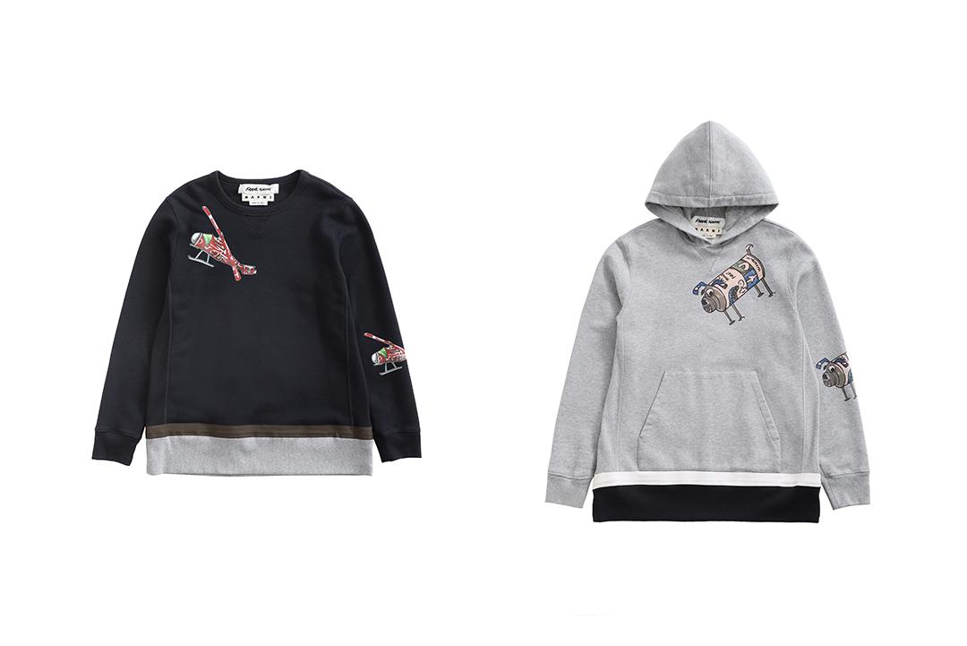 MARNIからユニークな新作メンズコレクションが発売! 大阪と東京にてポップアップストアを開催