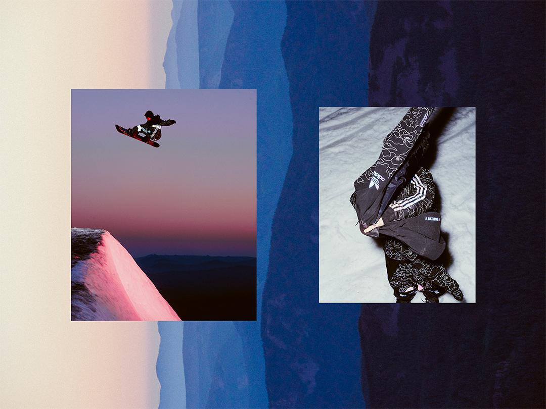 ストリートカルチャーとスノーボードシーンが融合した adidas SnowboardingとBAPE®のコラボコレクションが登場