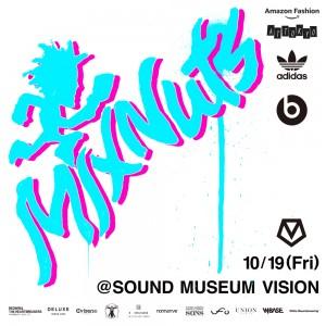 東京のストリートカルチャーを牽引するイベント MIXNUTSが開催! 限定コラボTも登場