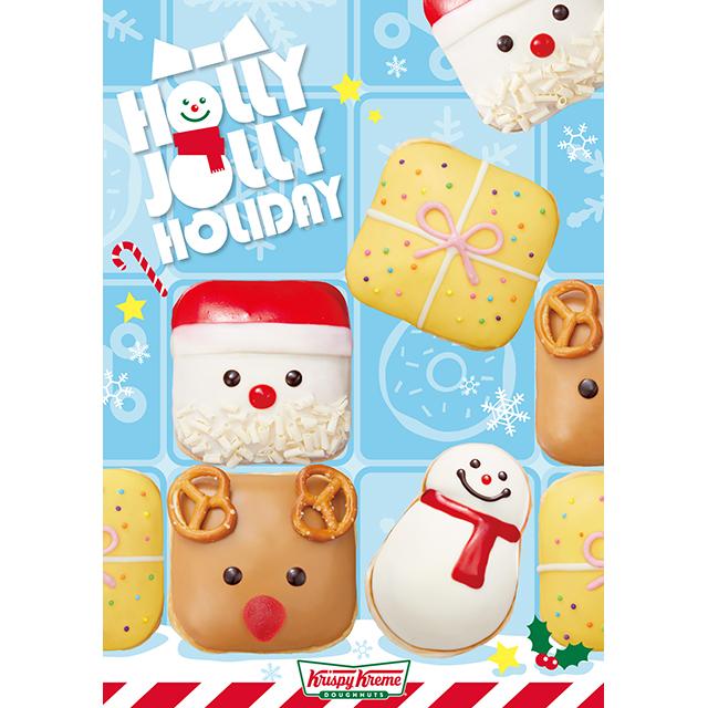 ミルクティ味が新登場♡ 今年もクリスマス仕様のキュートなクリスピー・クリーム・ドーナツが発売