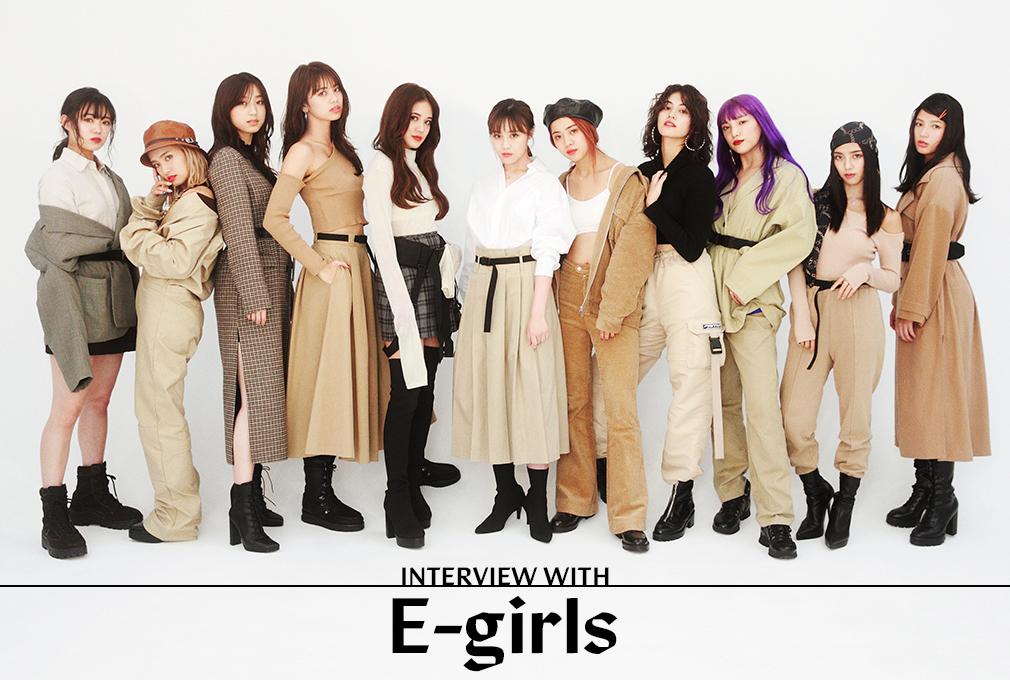 話題の映画主題歌を歌うE-girlsにNYLON JAPANがスペシャルインタビュー!