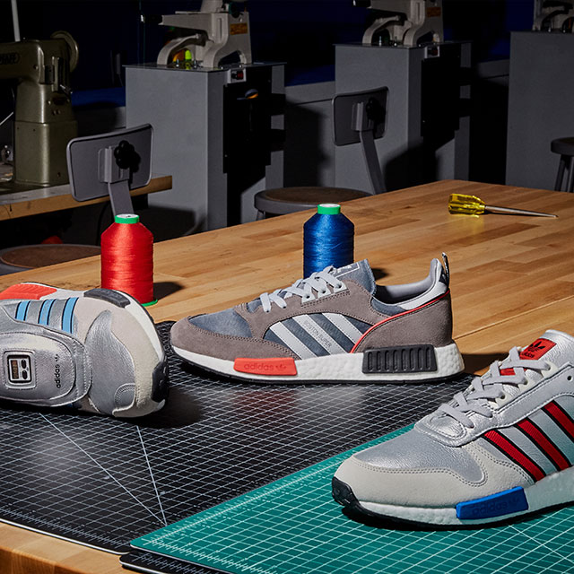 adidas Originalsより過去の名作スニーカーを近未来風にアップデートした新作シリーズNever Madeが発売