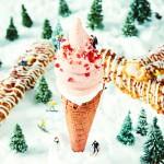 クリスマス限定フレーバーが登場♡ 雪のようなホワイト×ピンクのホリデーカラーのザクザクが発売