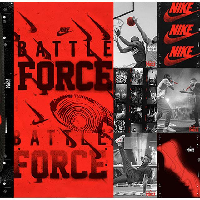 ナイキによるバスケ・ダンス・ラップの頂点を決めるバトル型イベント『BATTLE FORCE』が開催!