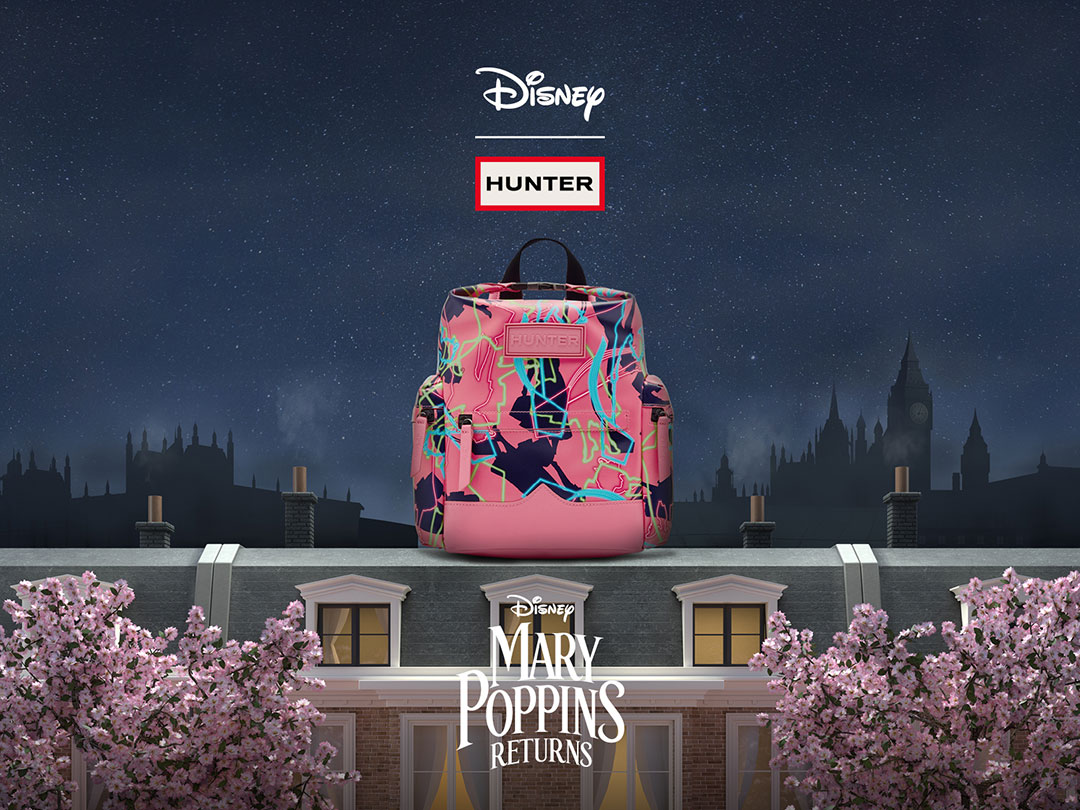 HUNTERがディズニーとコラボ♡ 映画『メリー・ポピンズ リターンズ』の公開を記念したスペシャルアイテムが登場
