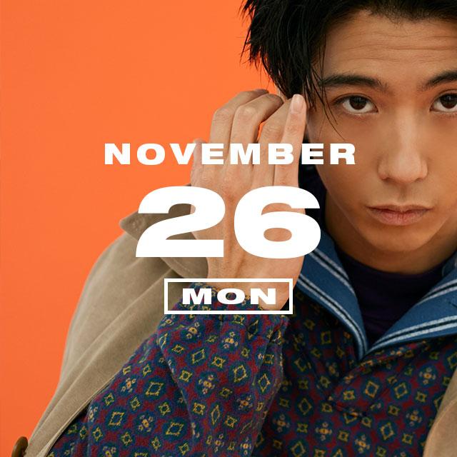 365 ANNIVERSARY CALENDAR 今日は何の日? 〜11/26〜