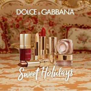 ドルチェ&ガッバーナ ビューティより豪華なバロック柄のホリデーコレクションが発売