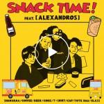 フードプロジェクト Snack Time!より人気ロックバンド[ALEXANDROS]とのコラボイベントが開催!