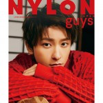 NYLON JAPAN 12/27 発売 2 月号 guys cover 《與真司郎 from AAA》、これが20代ラストの撮影でした