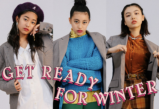 買ったアウターどう着こなす? GET READY FOR WINTER vol.1 CHECK JACKET
