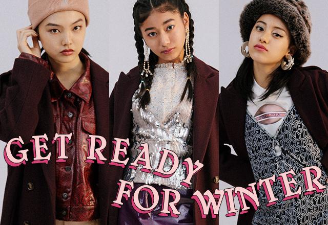 買ったアウターどう着こなす? GET READY FOR WINTER vol.3 CHESTER COAT