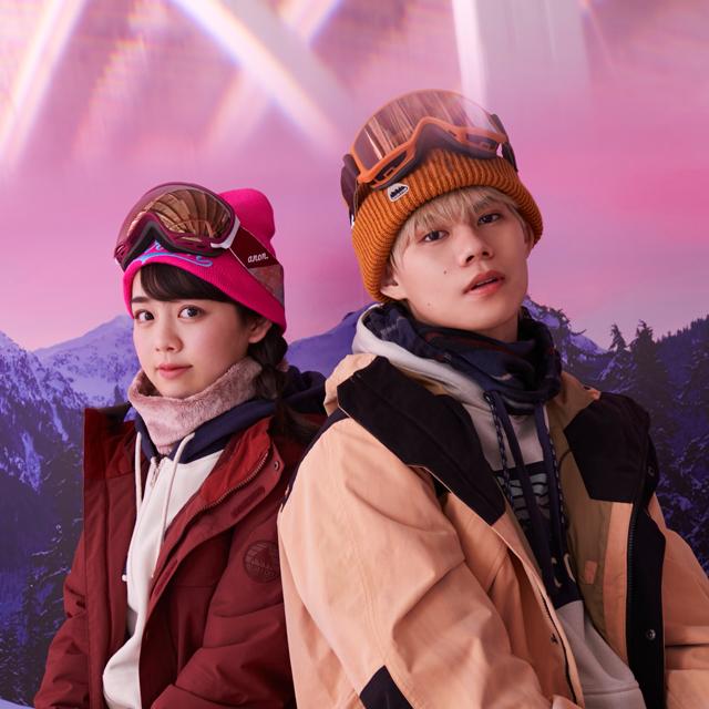 BURTONのウィンターアイテムで雪山&タウンを自由にライド!