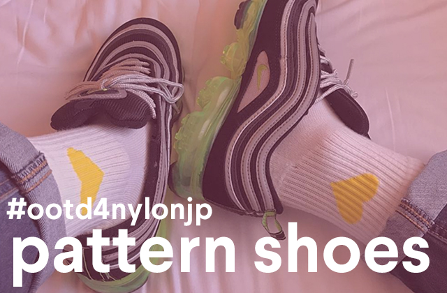 足もとを主役に! 存在感のある柄シューズのスタイリングTIPS #ootd4nylonjp