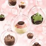 まるで妖精の贈り物のよう♡ キュートなケーキを一粒に表現したチョコレートが登場