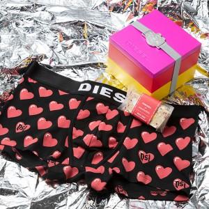 DIESEL×キャンディショップ PAPABUBBLEによるバレンタイン限定ボックスが登場♡