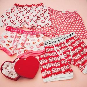 バレンタインはアメリカンイーグルのアンダーウェアを贈ろう♡