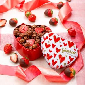 甘酸っぱいイチゴがイン♡ ギャレットよりバレンタイン限定の新フレーバーが登場