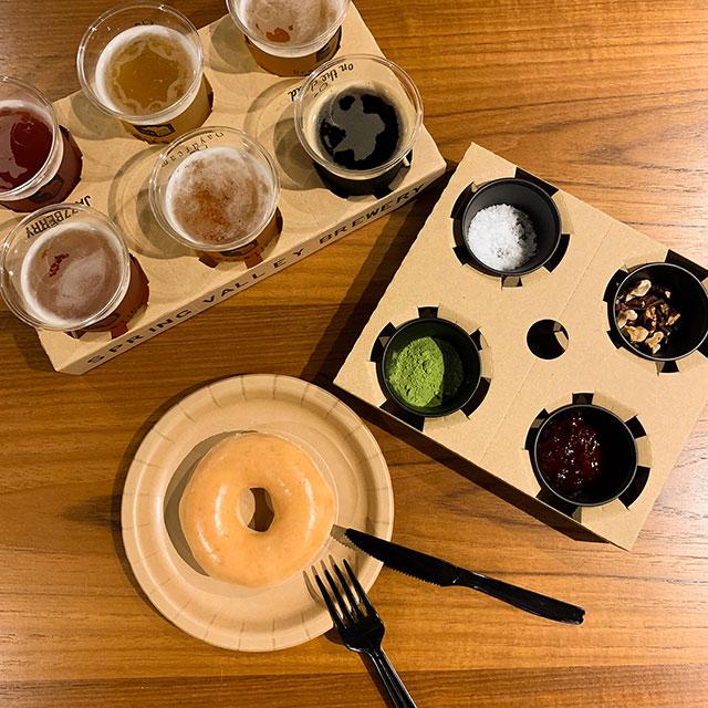 クリスピー・クリーム・ドーナツ×クラフトビールの新たな組合せが楽しめる期間限定フェアが開催