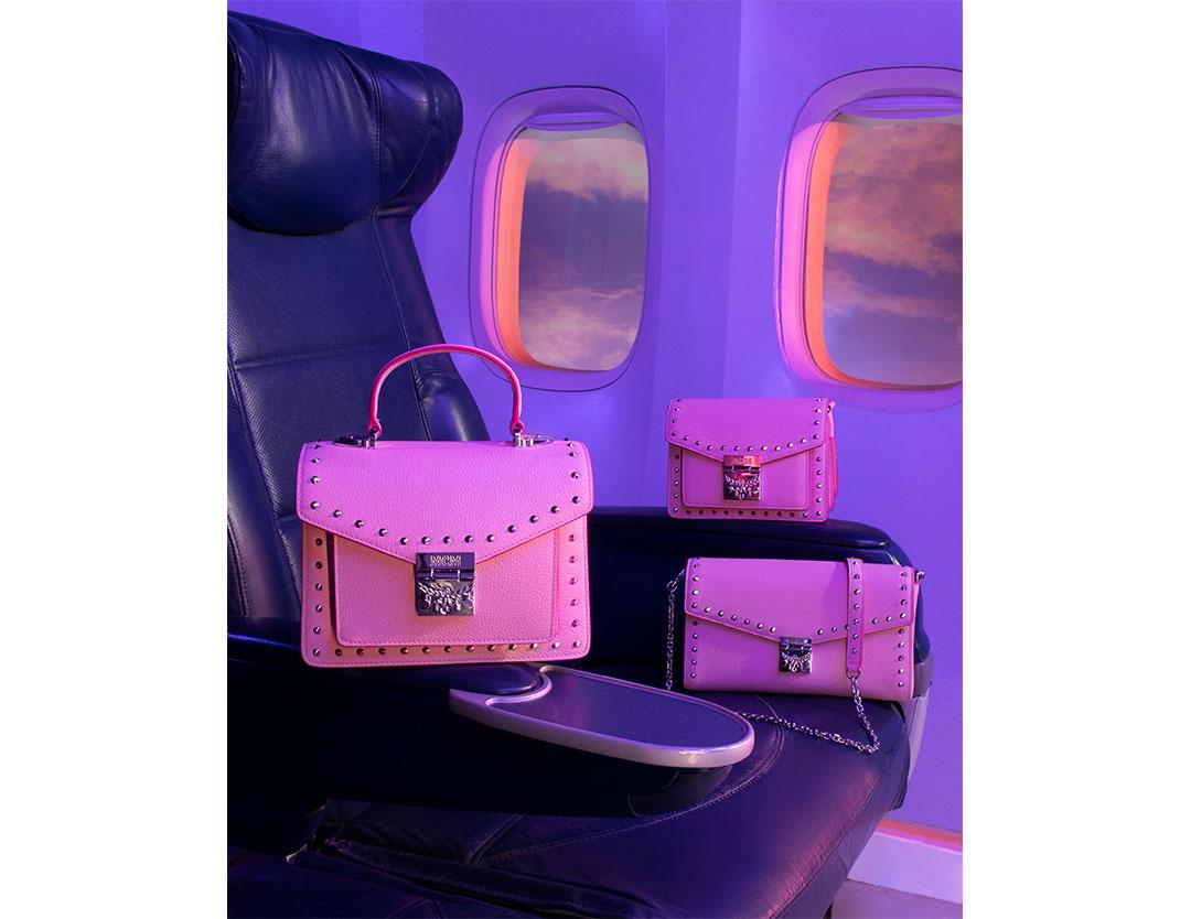 フェミニンなバッグが勢揃い♡  MCMよりバレンタインを彩る新作アイテムが登場