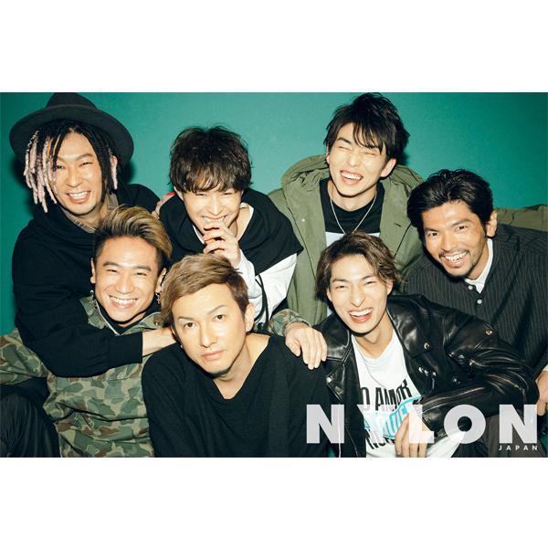 2/28発売のNYLON JAPAN 4月号にDA PUMPが全員揃って初登場!