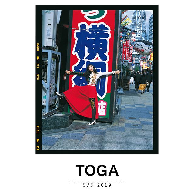 フォトグラファー鈴木親が撮り下ろしたTOGA 2019SSコレクションの作品をTOGA大阪店にて展示