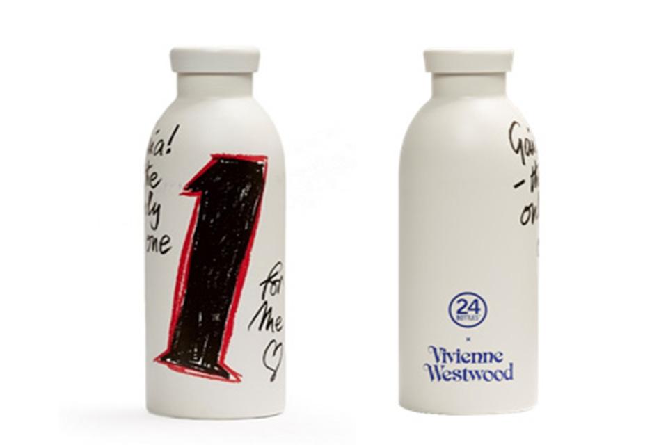 Vivienne Westwoodと24 Bottlesが3度目となるコラボクリマボトルをリリース