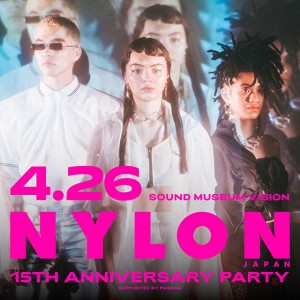 NYLON JAPAN 15TH ANNIVERSARY PARTY開催決定!!
