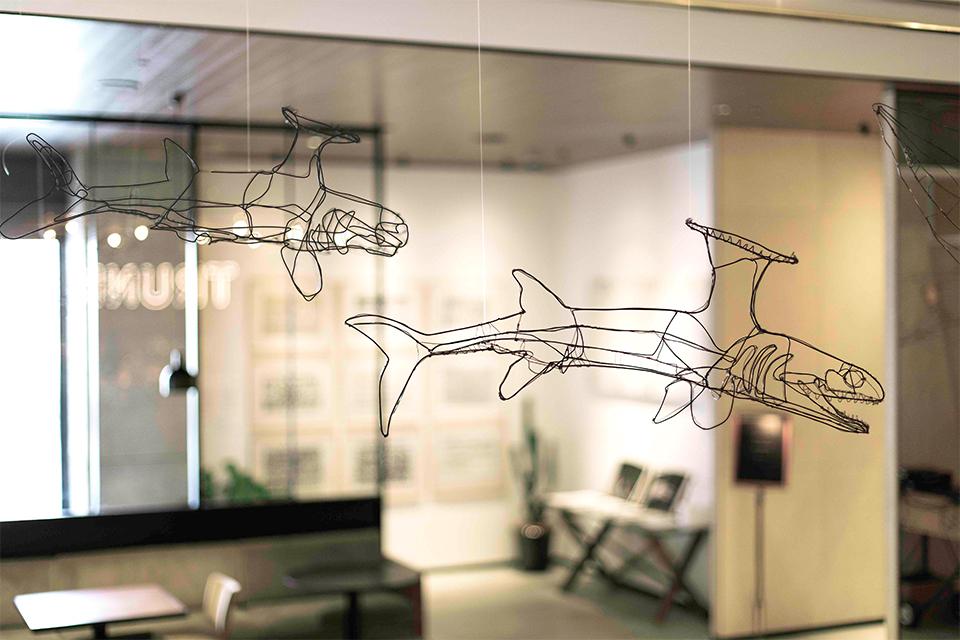 360°アートを体感できるHAyUの3Dアート作品展が開催