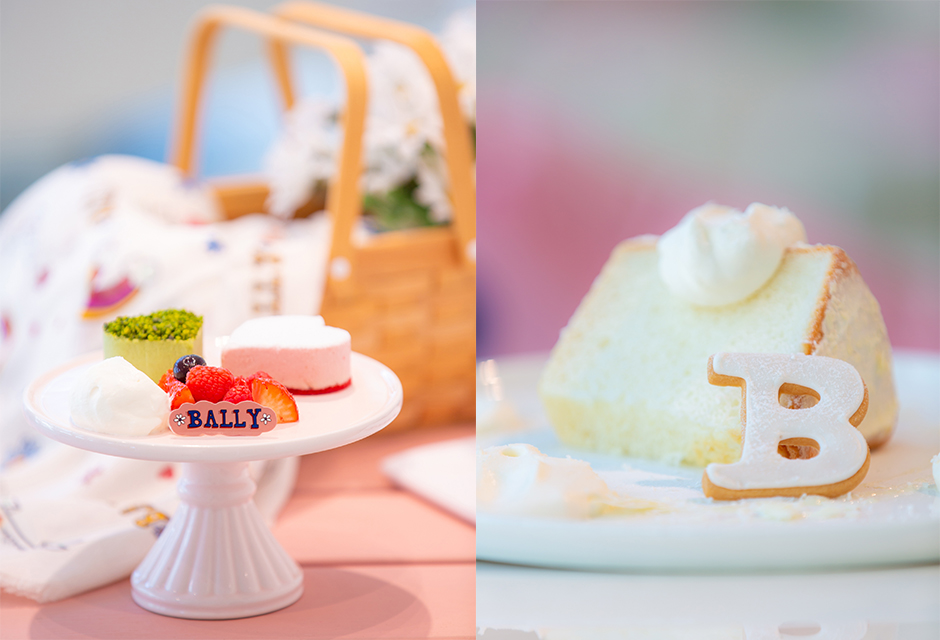 青山テルマとのコラボを記念したBALLY CAFEが限定オープン