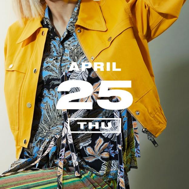 365 ANNIVERSARY CALENDAR 今日は何の日? 〜4/25〜