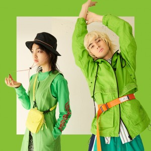 Get New Stuff vol.1 GREEN