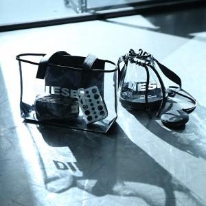 DIESELから夏らしいPVC素材のバッグが日本限定でローンチ!