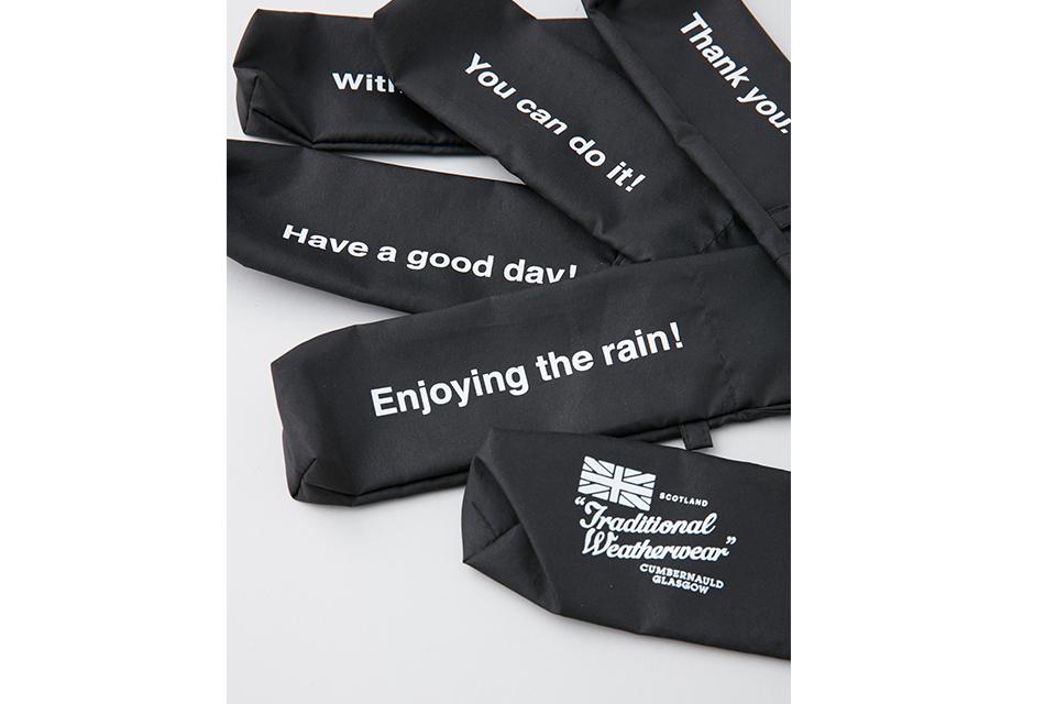 雨の日もおしゃれに! Traditional Weatherwearのレインフェアが開催