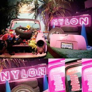 NYLON JAPAN創刊15周年を祝うスペシャルなパーティ