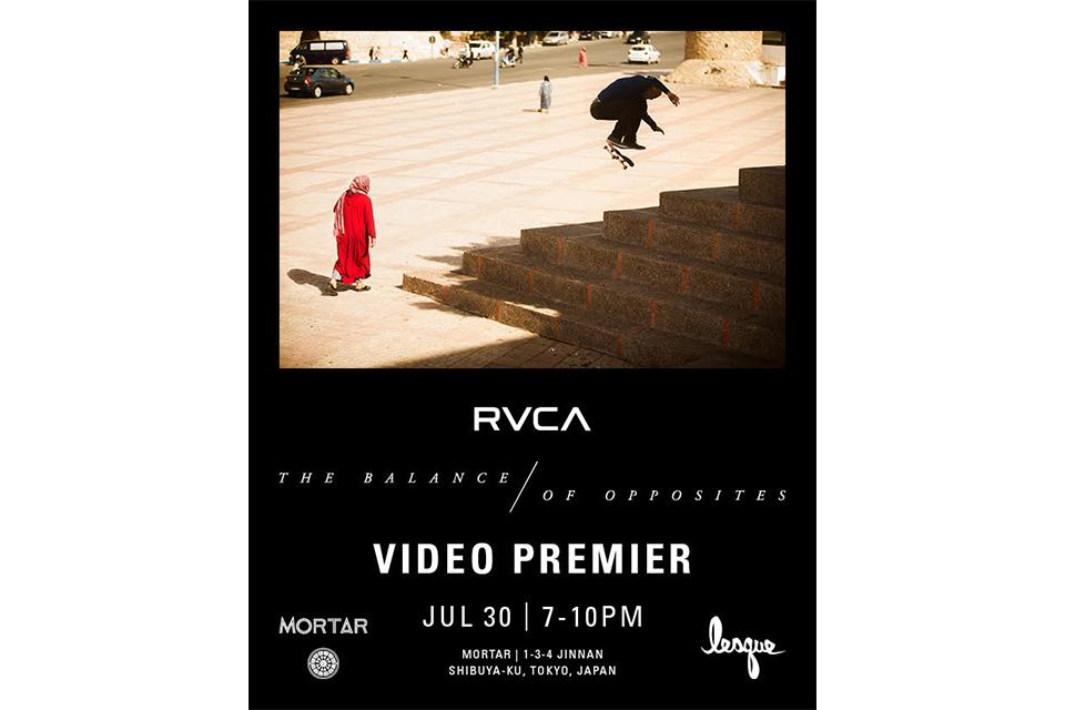 RVCA史上最大のツアーイベント RVCA WORLD TOUR TOKYOが開催!