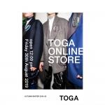 ついにTOGA初のオフィシャルオンラインストアがオープン!