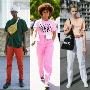 小技を効かせて! カラーTシャツスタイル特集