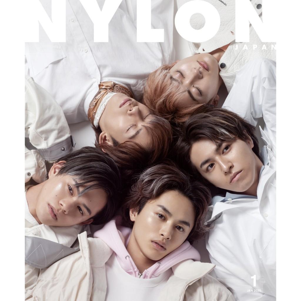 ついに超特急がNYLON JAPAN の表紙初登場! 11/28発売号はW カバー+ BOOK IN BOOK 付の超特急祭りな冬のファッション号!!