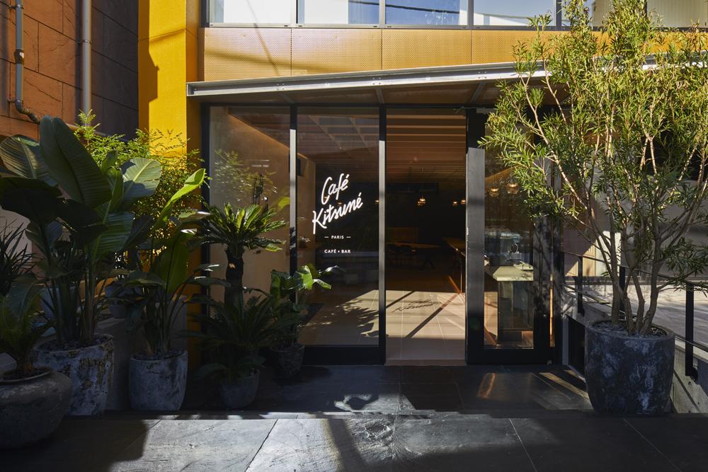 CAFÉ KITSUNÉ AOYAMAが移転&リニューアルオープン!